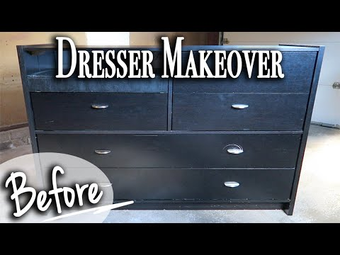 DIY Dresser Makeover ~ Relaxing Dresser Transformation DIY (Series)