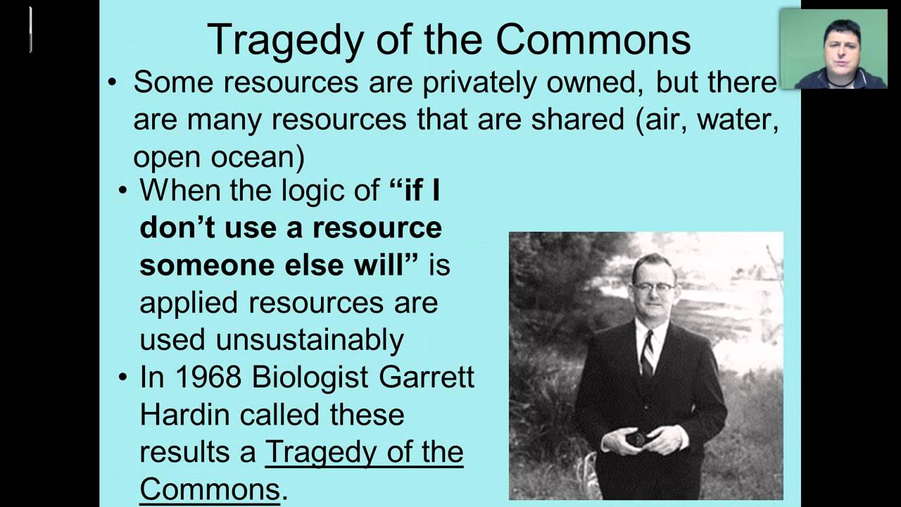 tragedy of the commons Tragedy of the commons refers to the problem associated with common goods: non-excludable goods that are also rival goods the problem is as follows:.