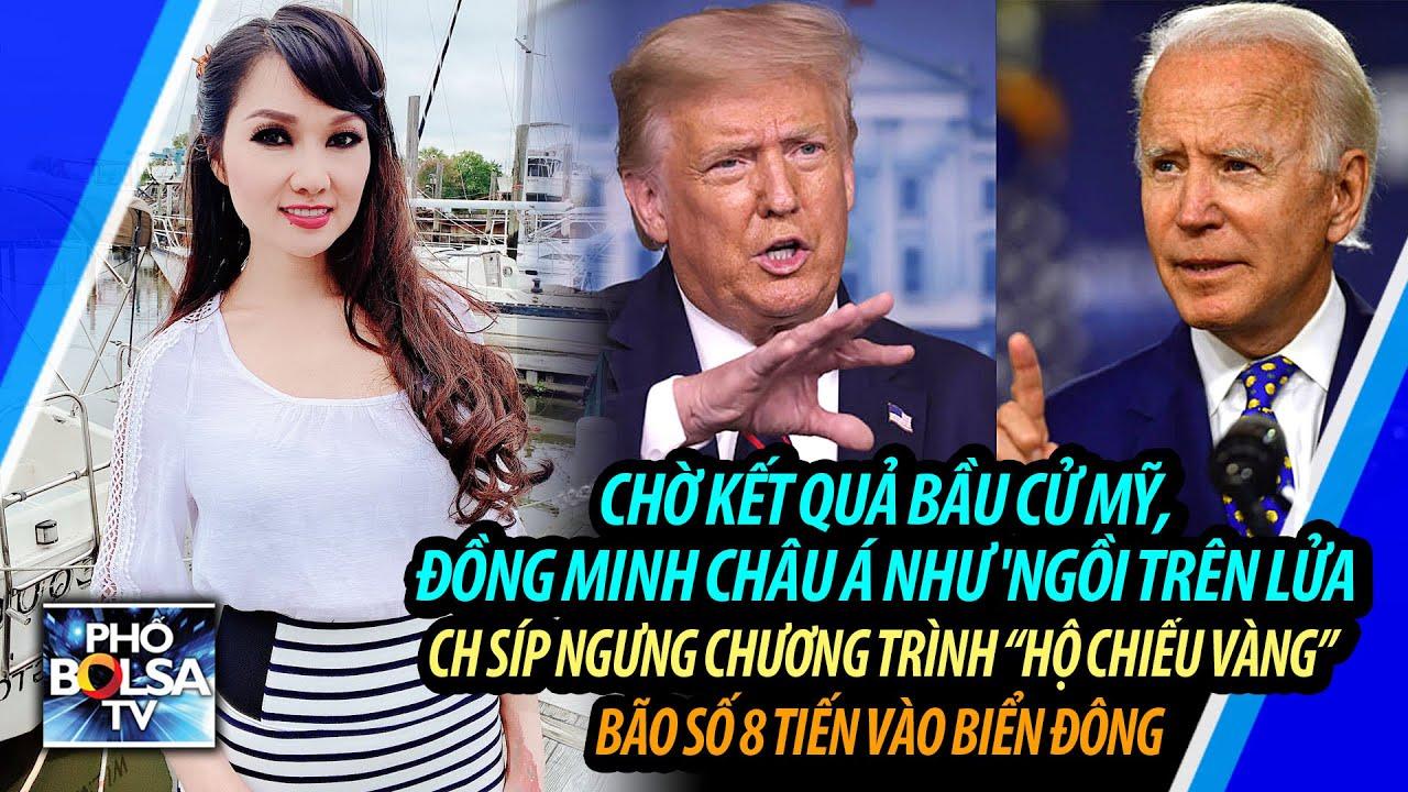 Chờ kết quả bầu cử Mỹ, đồng minh châu Á như ngồi trên lửa – CH Síp ngưng chương trình Hộ Chiếu Vàng