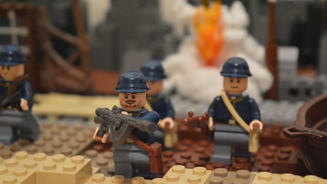 Lego WW1: The Battle of Krithia - stop motion