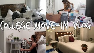college move in vlog: university of alabama