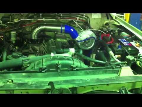 Nissan TD42 turbo kit by 666racing