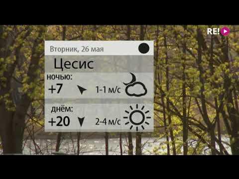 Прогноз погоды на 26.05