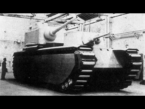 French Monster Tanks 1917 To 1945