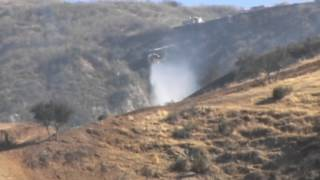 50 acre wildfire ignites near Moreno Valley