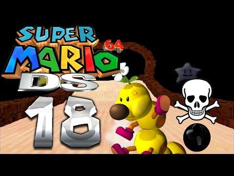 Let's Play SUPER MARIO 64 DS Part 18: Vorsätzlich geflutete Wiggler-Wohnung