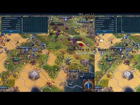 DirectX 12 vs DirectX 11 in Civilization VI – TURN TEST AND