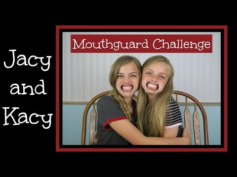 Cheek Retractor ~ Mouthguard Challenge ~ Jacy and Kacy