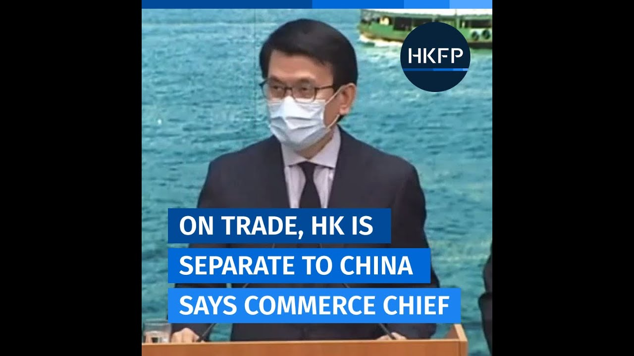 "HK commerce chief condemns US move to label all goods from Hong Kong as ""Made in China"""