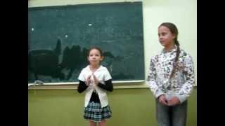 Визитка ученицы 4 А класса - Шараевой Виктории .mpg