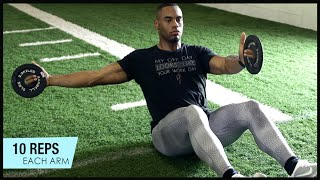 Core Workout With NFL Running Back