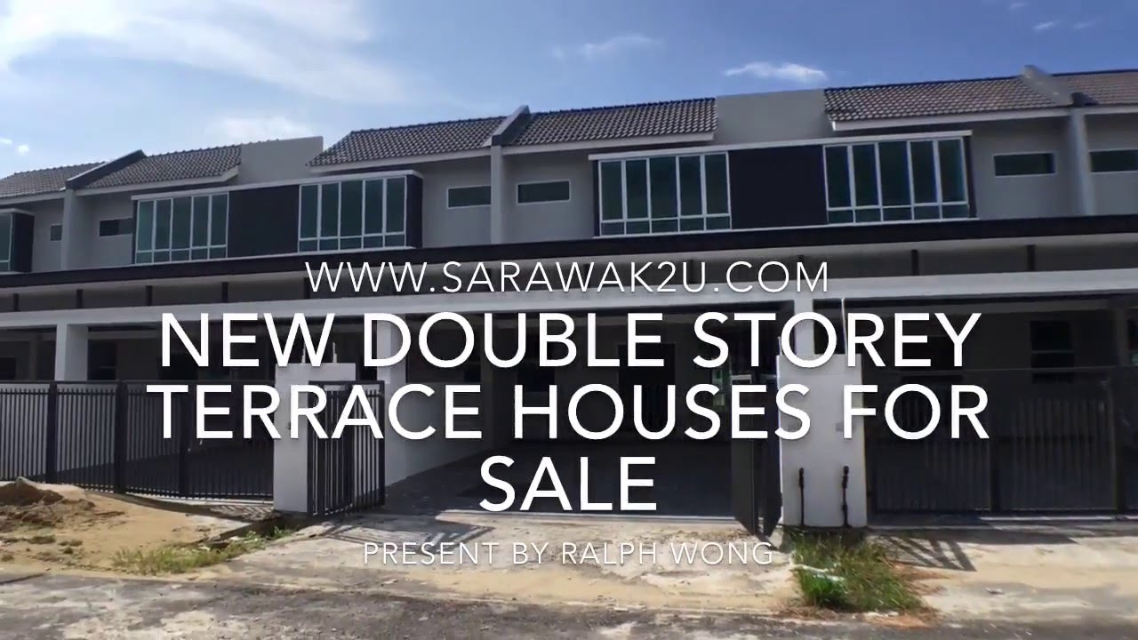 New double storey terrace houses for sale youtube for Watch terrace house