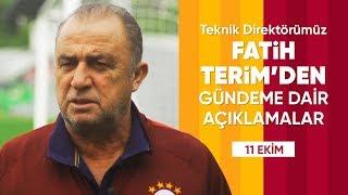 🎙 Teknik Direktörümüz Fatih Terim'den Açıklamalar