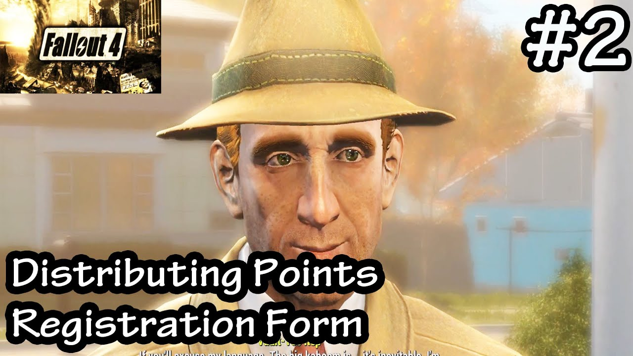 Fallout 4 - Distributing Points Registration Form - Vault Tec ...