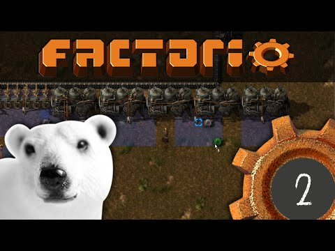 Factorio! #2: Building Infrastructure