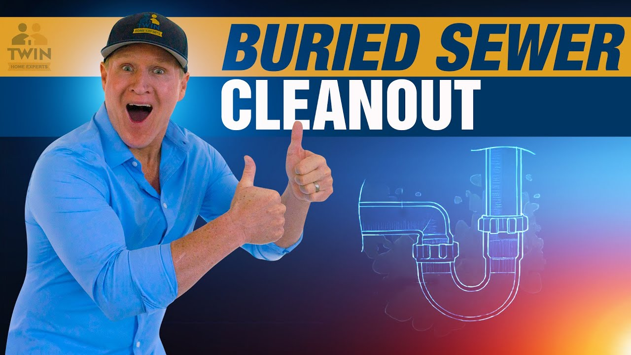 How To Find A Buried Sewer Cleanout Youtube
