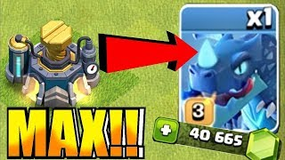 "ELECTRIC DRAGON MAX!! ""Clash Of Clans"" NEW UPDATE"