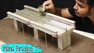 Concrete Bridge Model || Miniature Construction || Creative Channel