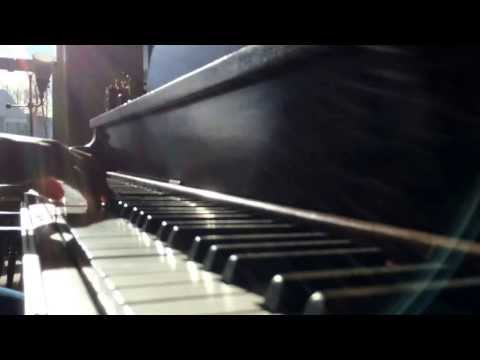 Bluegrass piano solo improvisation