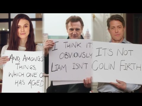 Inside the 'Love Actually' Reunion with Hugh Grant Colin Firth and Keira Knightley