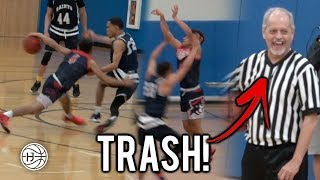 REFS CALLED TRASH AT Julian Newman Game! JULIAN LEADS DOWNEY TO COMEBACK IN OVERTIME!