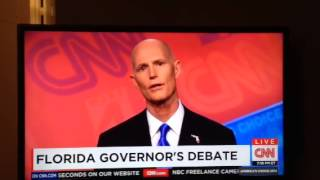 "Rick Scott: ""How would I know"" what minimum wage should be?"