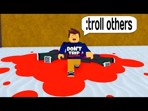 TROLLING THE BLUE GUEST WITH ADMIN COMMANDS IN ROBLOX!
