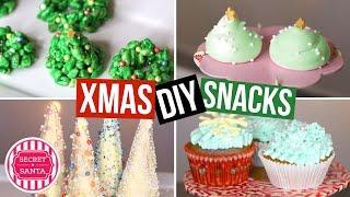 DIY SNACKS für Weihnachten! EINFACH & LECKER