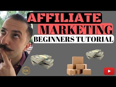 Affiliate Marketing Beginners Tutorial/2019 thumbnail