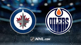 Hellebuyck, Jets shut out Oilers, 5-0