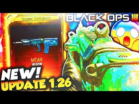 *NEW* BO3 DLC WEAPONS UPDATE 1.26! - NEW BLACK OPS 3 SUPPLY DROP DLC WEAPONS! (BO3 DLC UPDATE 1.26)
