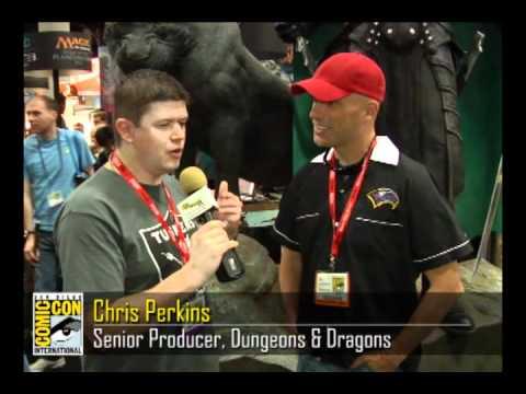 Chris Perkins - Senior Producer, Dungeons  Dragons - Comic-Con 2011