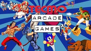 BEST TECMO Arcade Games