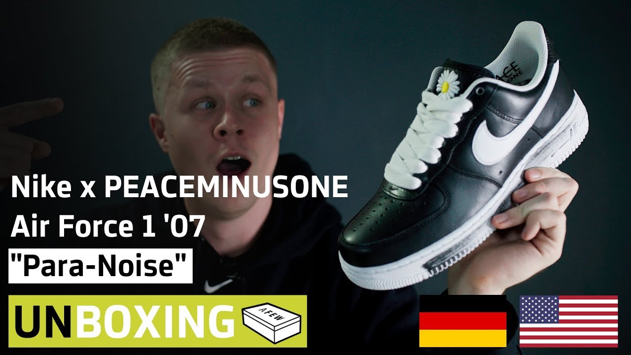 Nike x PEACEMINUSONE AIR FORCE 1 PARA NOISE | G Dragon