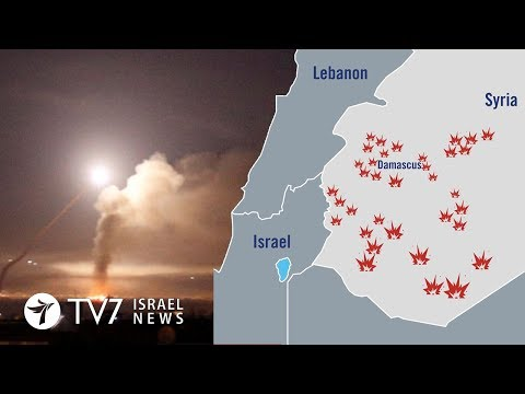 Israel launched wide-scale strike against Iran in Syria - TV7 Israel News 11.05.18