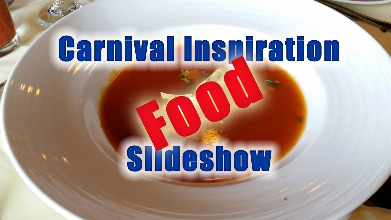 Carnival Inspiration Food Slideshow