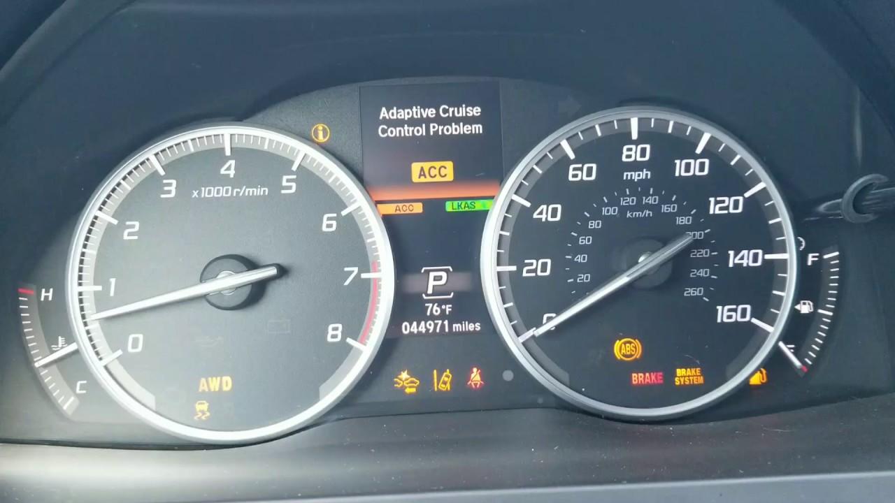 2007 Acura Mdx Warning Lights