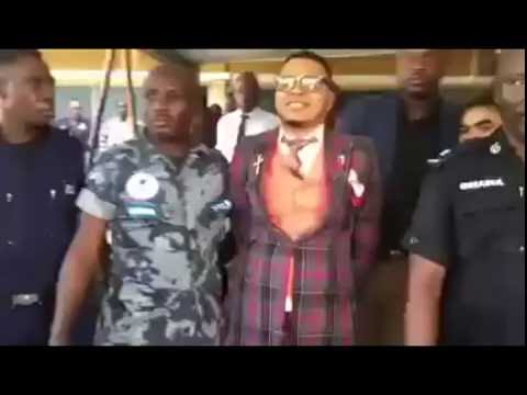 Bishop Obinim handcuffed by Tema Police full video