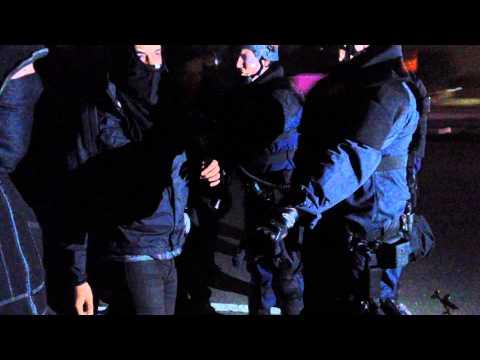 Highway 24 Berkeley protests 12/9/14