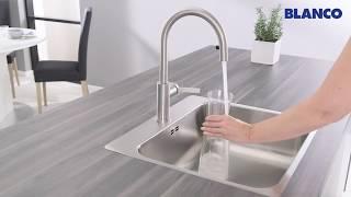 Обзор BLANCO CANDOR-S:  кухонный смеситель с выдвижным изливом