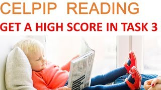 CELP P Reading Task 3   Best Strategy  Sample Questions and Answers Reading for information eBook