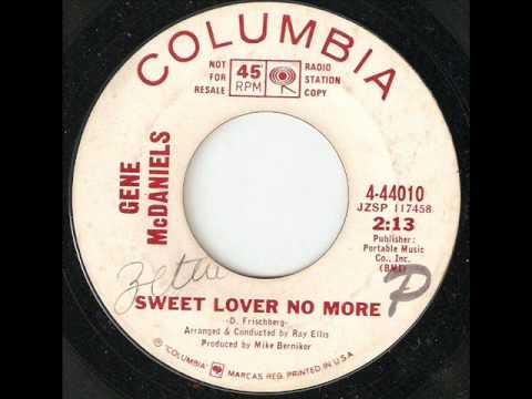 GENE McDANIELS Sweet Lover No More COLUMBIA