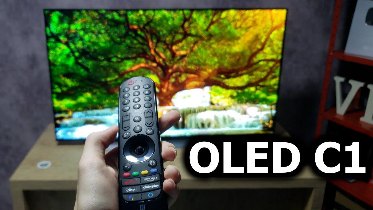 TV LG OLED C1 2021 - Primeiras impressões! É boa mesmo?