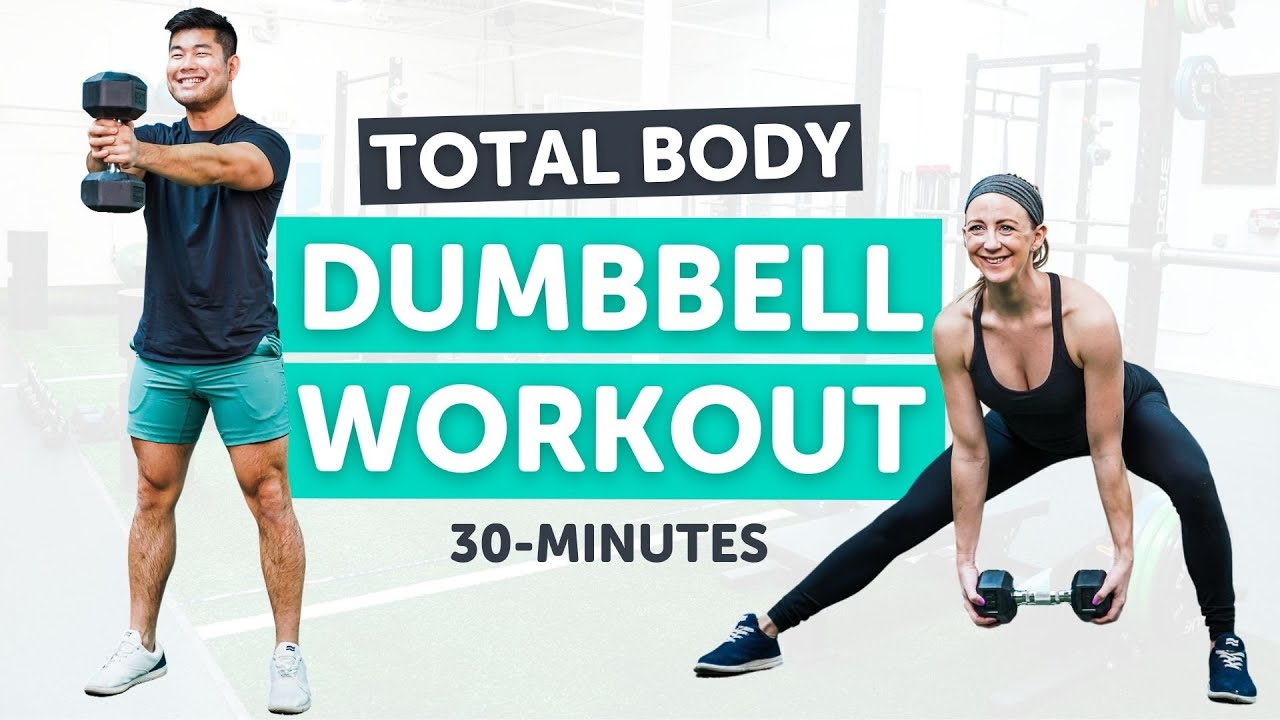 Download Total Body Dumbbell Workout!   30 Minutes   Strength and Cardio