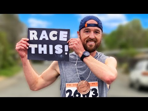 Nate Attempts a Sub 18 Min 5k | How to Nail Your Virtual Race