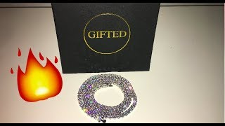 THE GIFTED FEW GOLD PREMIUM TENNIS CHAIN REVIEW!