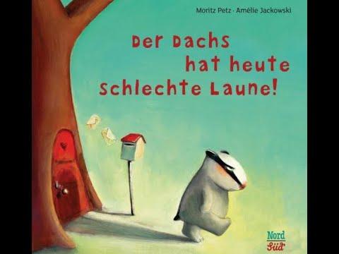 Der Dachs hat heute schlechte Laune! und andere Geschichten YouTube Hörbuch Trailer auf Deutsch
