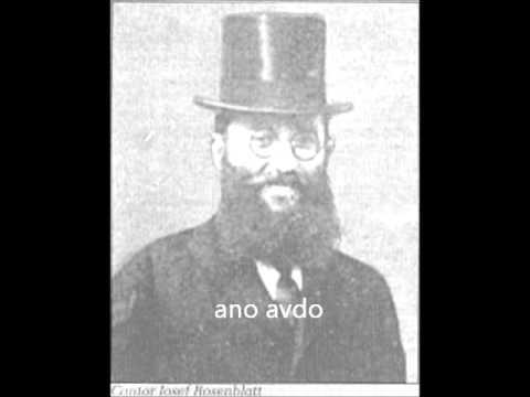 Ano Avdo - אנא עבדא Yossele Rosenblatt
