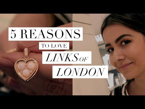 Jewellery Specialist's 5 Reasons To LOVE Links Of London