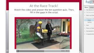 Equi learning : enseigner l'anglais et le monde du cheval - Université de Caen Basse Normandie